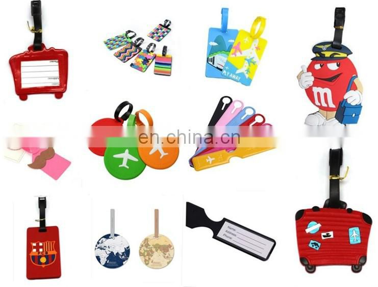 Cheap writable pu bulk luggage tags for travel bag