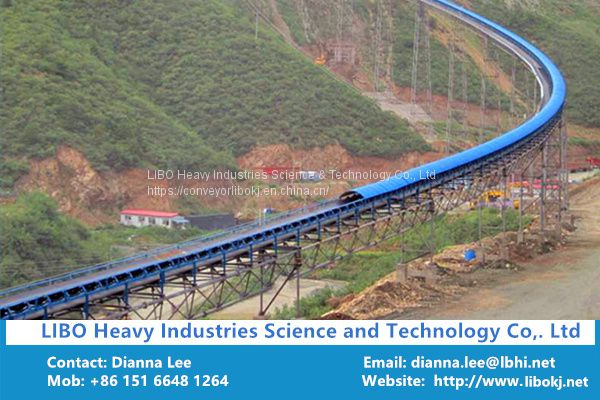 LIBO Heavy Industries supply belt conveyor with CE Certificate Image