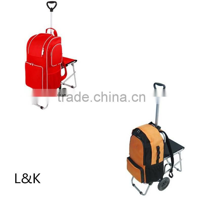 portable folding shopping cart trolley/shopping cart bag with wheels