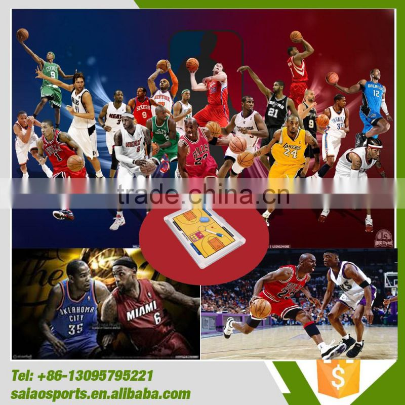 Professional basketball coach tactic board, N B A tactic board, coach assistance products