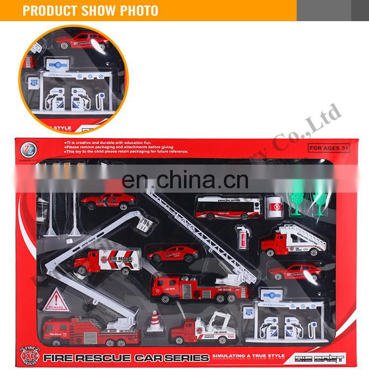 New Design Toy Metal Fire Trucks Wholesale