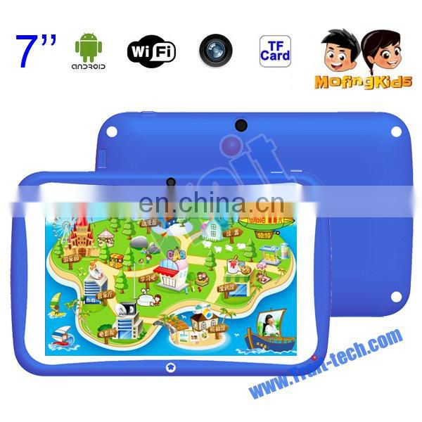 "Children Education R70AC 7"" Tablet PC Android 4.2 RK3026 1.0GHz RAM 512Mb Flash 8GB Support Wifi with Camera G-sensor"