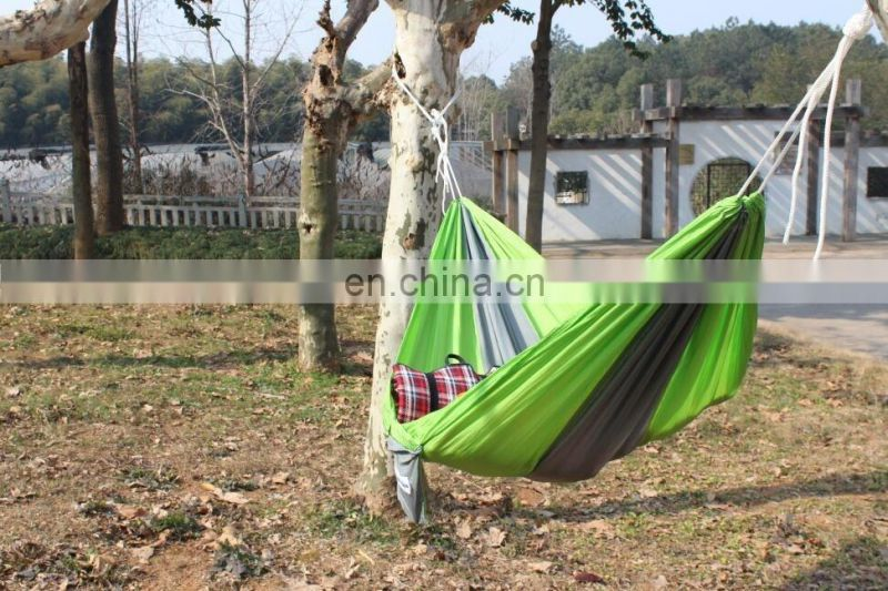 2016 Ultralight Durable Strong Nylon Taffeta Fabric Parachute Camping Portable Hammock