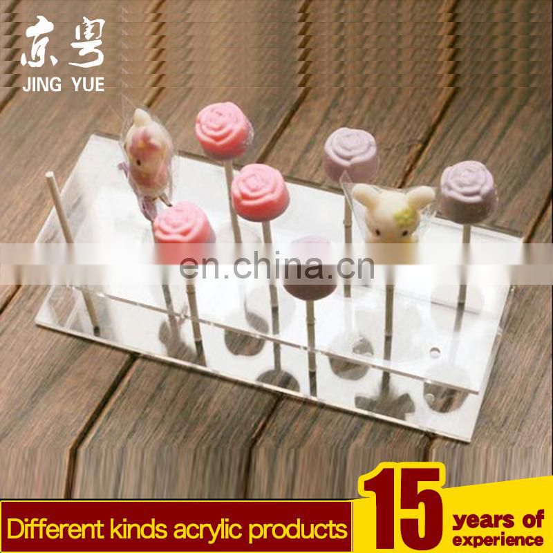 High Quality Pmma Plexiglass Candy Display Stand Acrylic Lollipop Holder