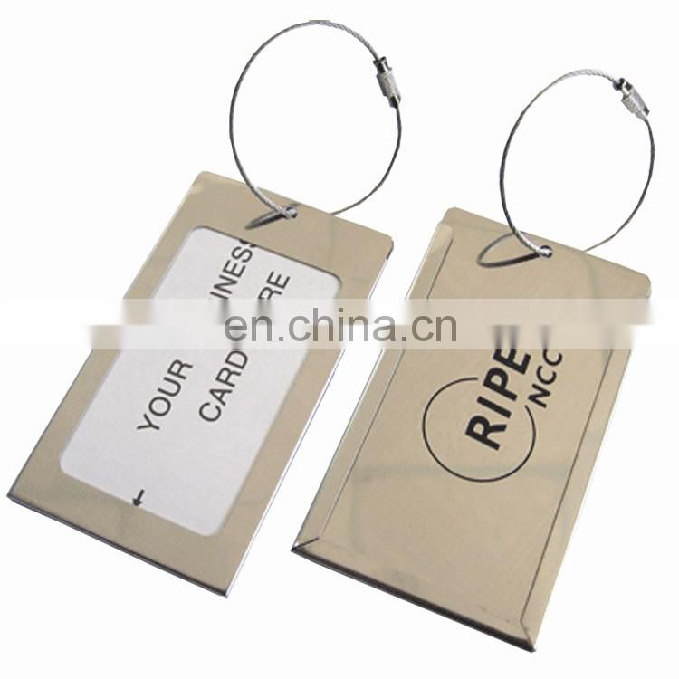 Customized personalzied blank flight unusual luggage tags for sale