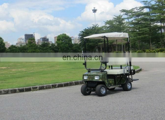 4 seater electric golf cart 24v 1000w with folded rear sear kit CE certificate AX-A3-6