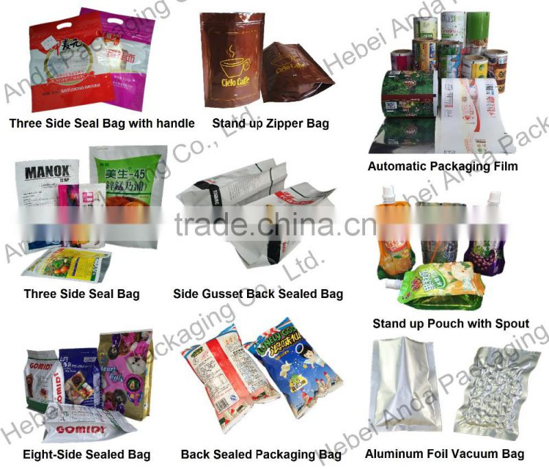 10ml Aluminium foil shampoo packaging sachet film/Cosmetic Sample sachet
