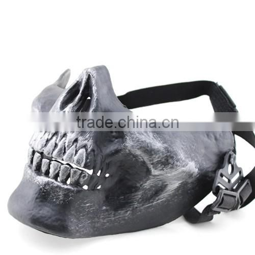 Silver Color Unisex Millitary Half Face Mask Protection Paintball Masks Skull Mask Of Paintball From China Suppliers 130471467