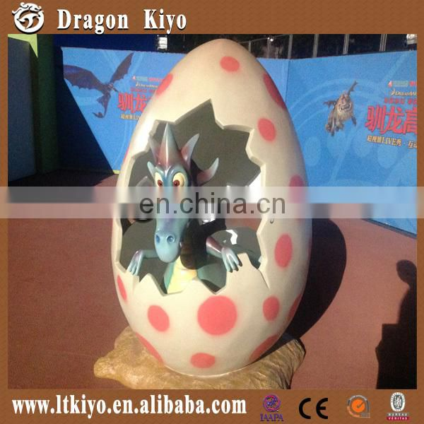 2016 realistic electric life-size dinosaur eggs decoration for christmas