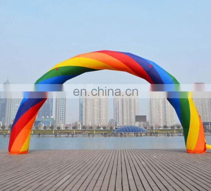 2017 Hot sale inflatable rainbow arch for sale