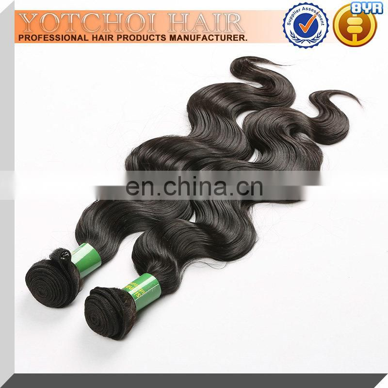 Hot selling beauty elements hair 100% human hair body wave malaysian hair weave