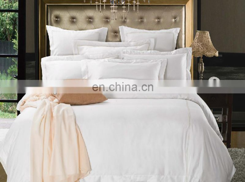 Hot sale 100% cotton queen/king/single/double size hotel flat sheet