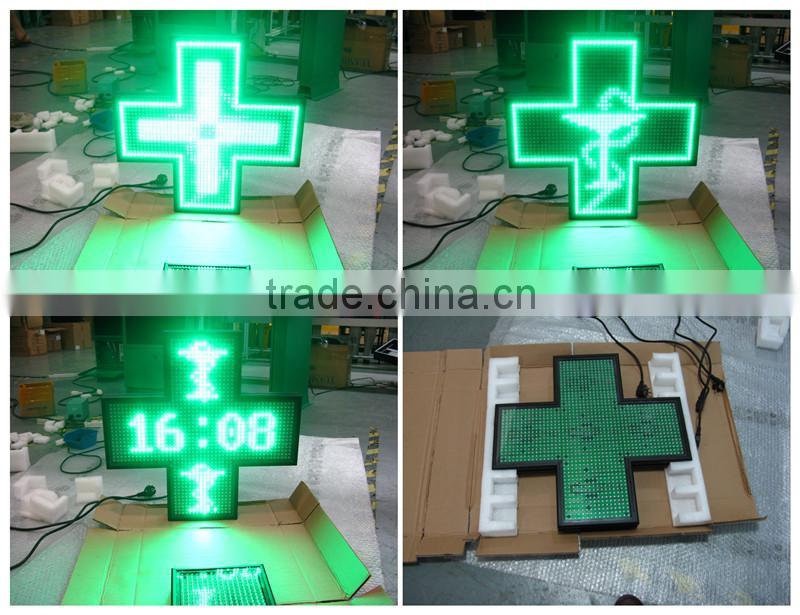 C-power 3D p10/p16/p20/p25 asynchronous pharmacy cross/led