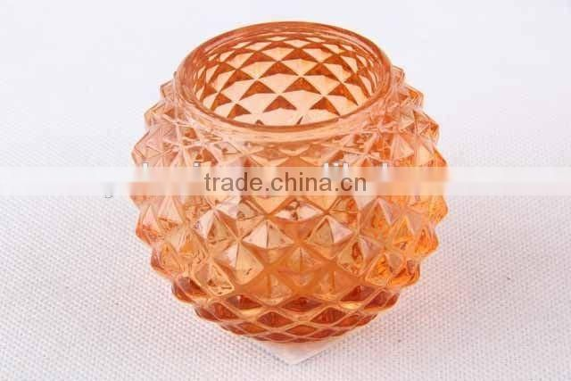 New design home decor /round Mosaic design candle holder