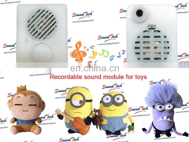 Sound recording device for toy