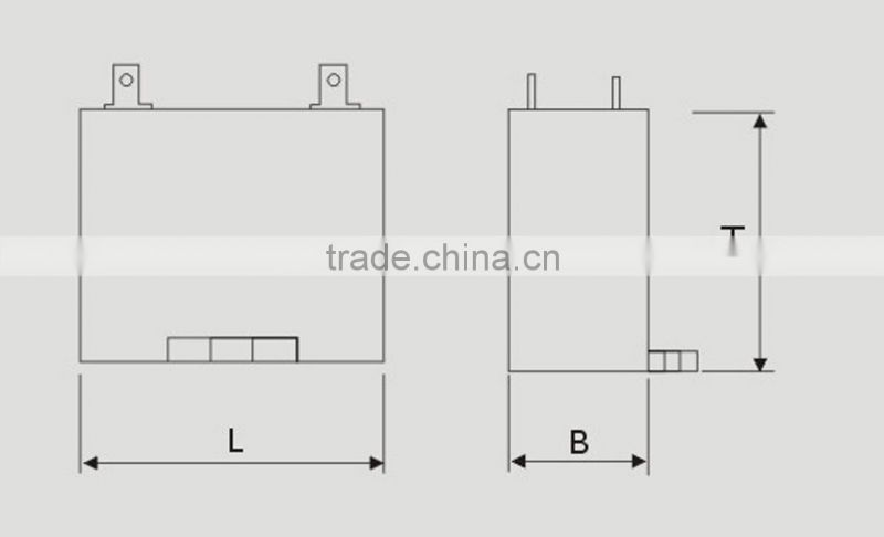 China Manufactory eletric /ceiling fan wiring diagram capacitor cbb61