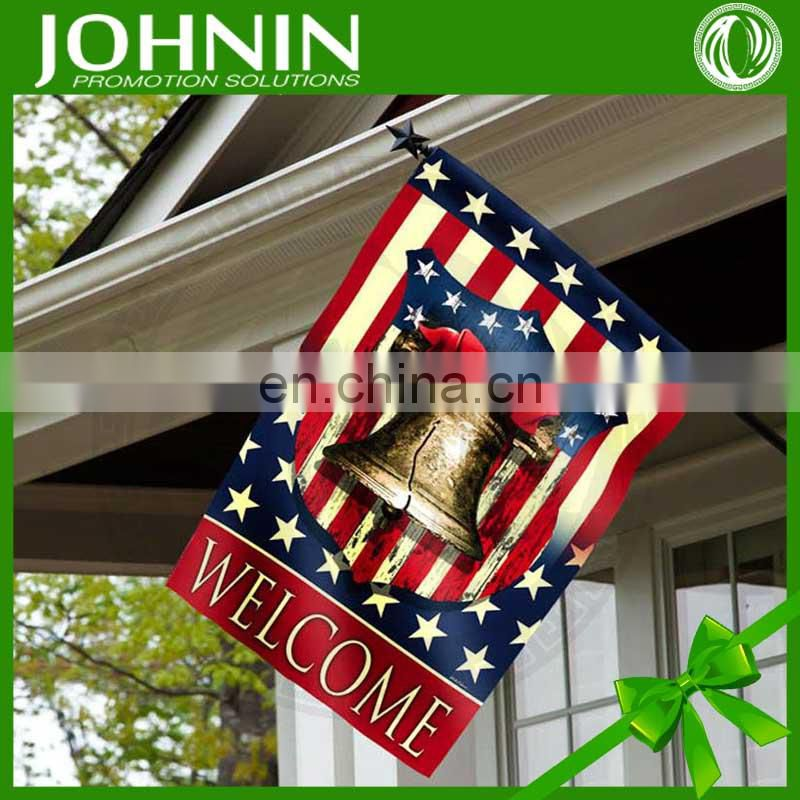 professional custom high quality promotion wall decoration flag