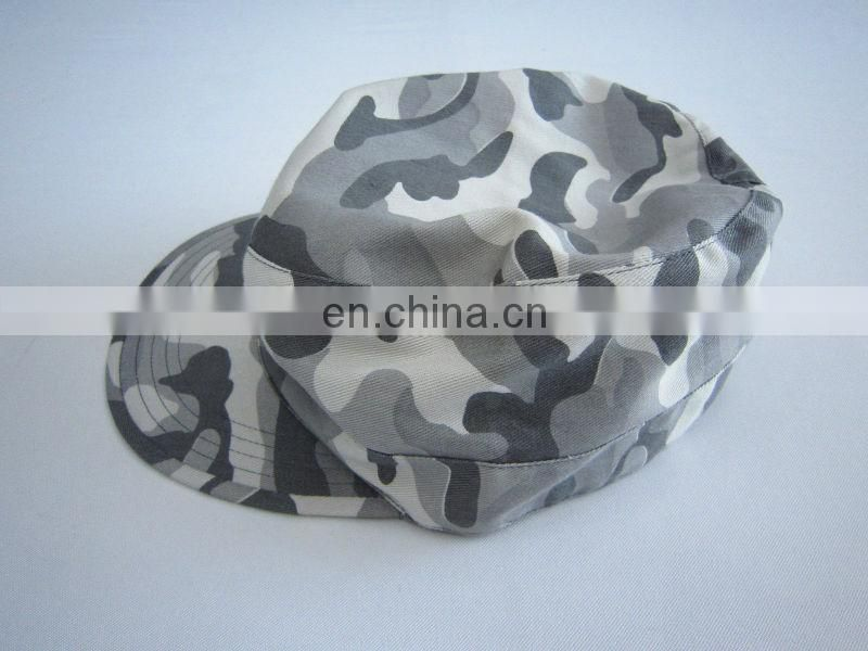camouflage military hat training hat