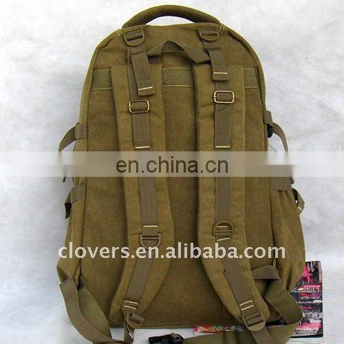 Canvas military style computer bag for teenagers