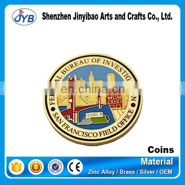 Wholesale cheap metal souvenir copper blank coin