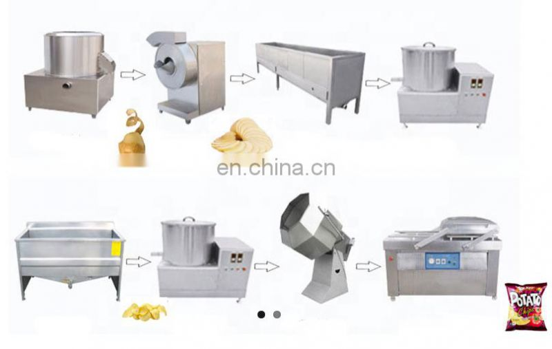 Taizy potato chips making machine price with competitive price