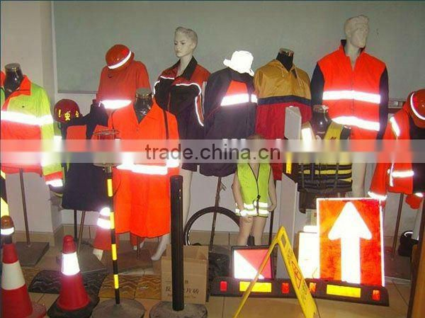 EN471,Class 2, ANSI,SGS High Versibility Reflective Fabric (Polyester backing) for high visibility safety clothing