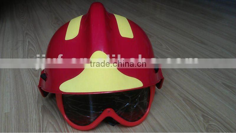 US style best fire helmet with goggles
