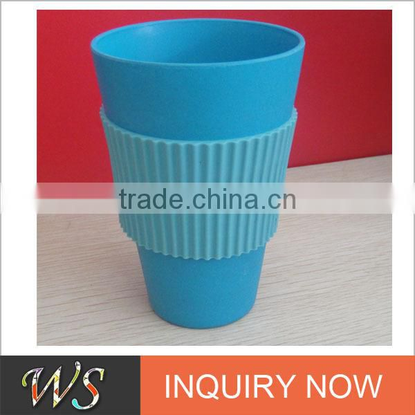 Eco Bamboo Fiber Bio Cup with Insulated wrap