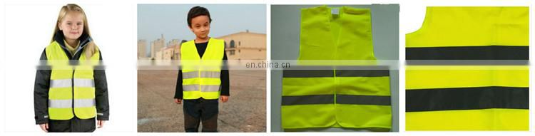 Custom light orange children vest in summer