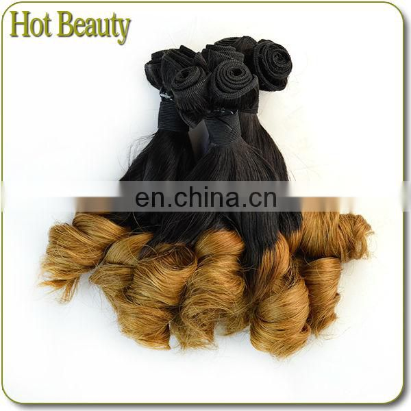 Faceworld hair high quality spring curl virgin brazilian hair extensions