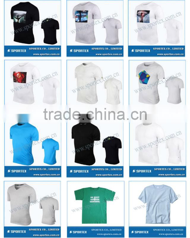 SPT-CT1322 custom sports t shirts, cotton t shirt for sports, sports t shirts