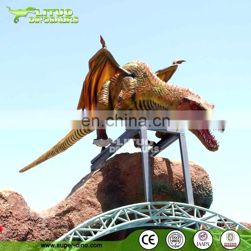 Life Size Robotic Dragon Model