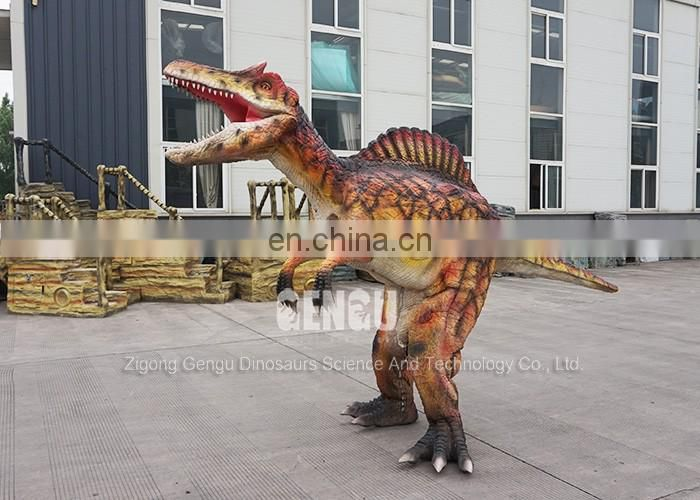 Make simulation dinosaur costume animatronic