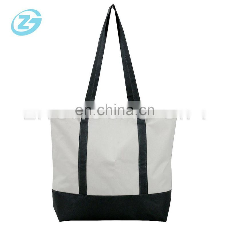 factory wholesale oxford handbag, custom fashion oxford bag, shopping tote bag