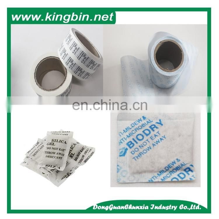 rolls silica gel bag silica gel desiccant packing non woven fabrics