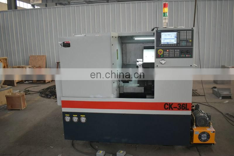 CK36L Cnc Metal Lathe Machine Tools with German Ball Screw Image