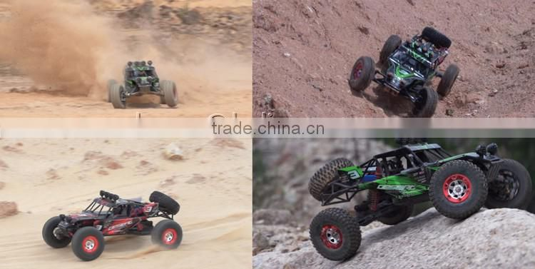 2.4G 4WD 1:12 Full Scale Remote Control Hobby RC Truck Model