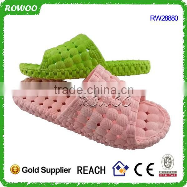 Hot sale style hotel quality washable High quality open toe spa slippers