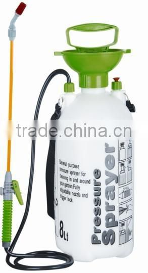 8L plastic garden backpack hand pump sprayer
