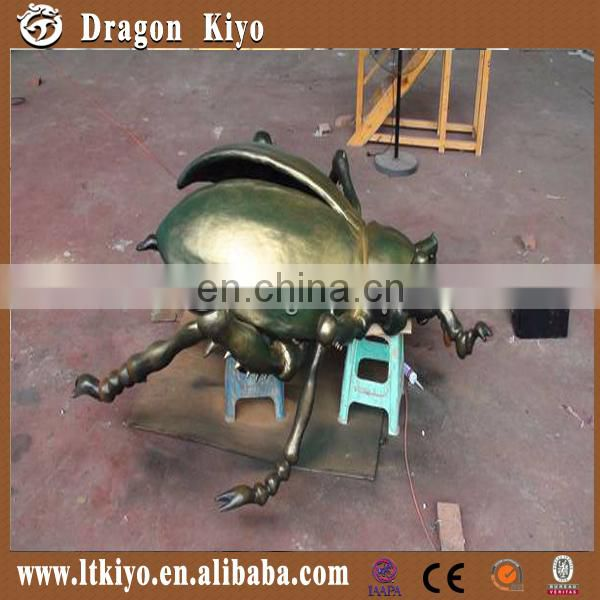 Life Size Simulation Insect Beetles made of silicon rubber for sale
