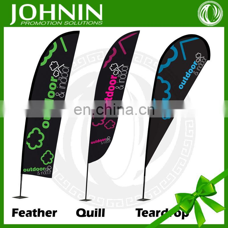 OEM Customized Digital Printing High Quality Outdoor AD Feather Flags
