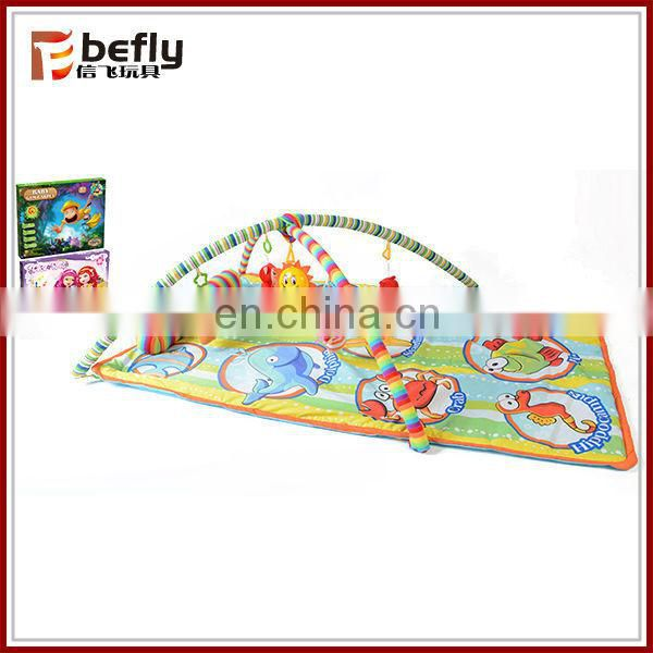 Wholesale soft plush baby play mats carpet