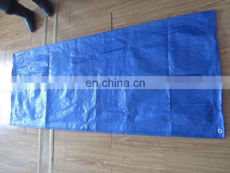 used pe canvas coloured jumping tarpaulin plastic sheet Image
