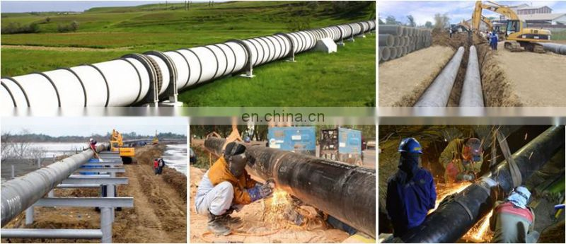 Q235 B SSAW Spiral welding steel pipes,  steel pipe Pile 508mm/609mm diameter construct pipe