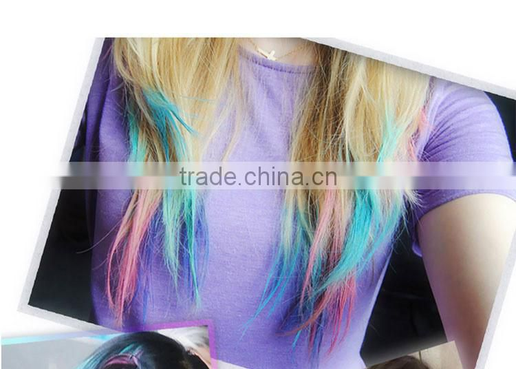 Colorful Round hair dye chalk temporary hair color chalk