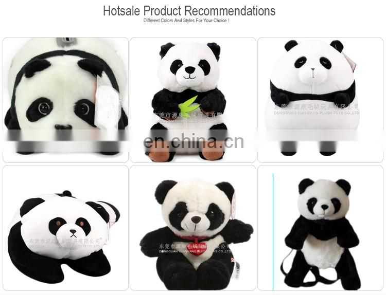 Lovely plush panda coin bank