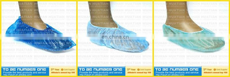 gym shoe covers..disposable cheap plastic shoe covers..water proof shoe cover