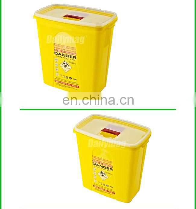 Medical Disposal Bin Sharp /Safe SharpS Containers Biohazard Needle Disposal Sharp Container