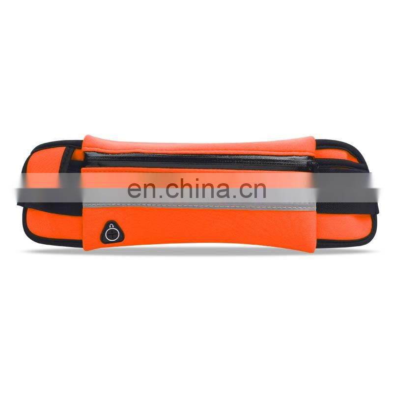 Outdoor cycling running belt lycra, waterproof running sport elastic waist bag