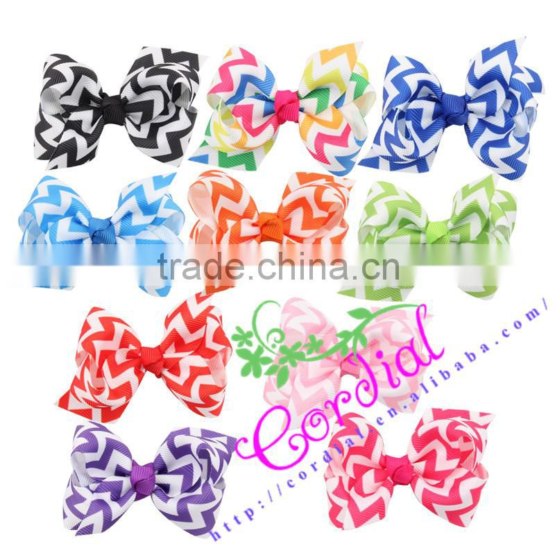 Wholesale Printed Knitted Baby Bows Headband Fancy Designer Baby Headbands Knot Headband